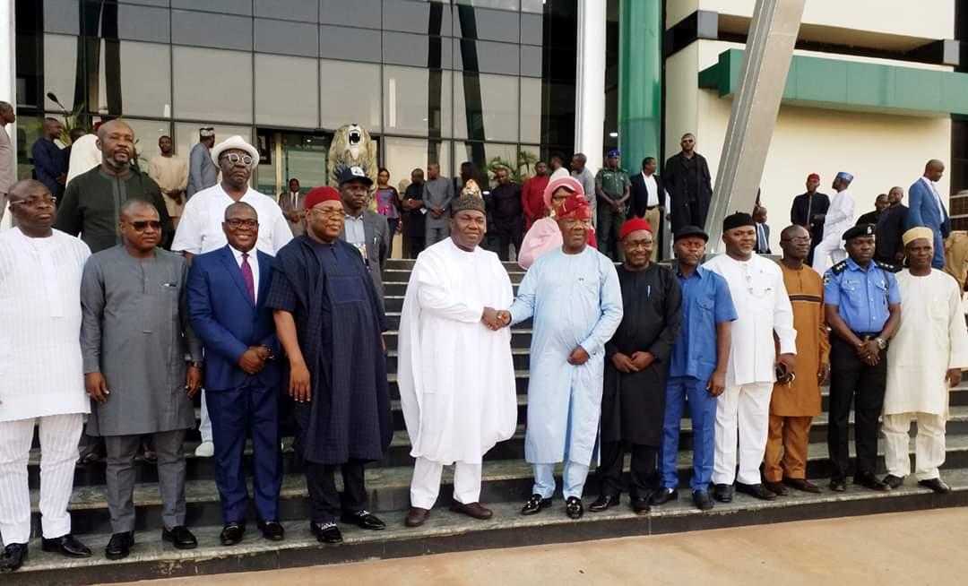 IMG 20191206 WA0097 - Gov. Ugwuanyi warns against unnecessary conflict, inaugurates committee