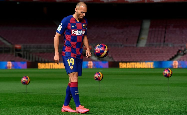 LaLiga: Setién includes Braithwaite in Barcelona squad to face Eibar 1