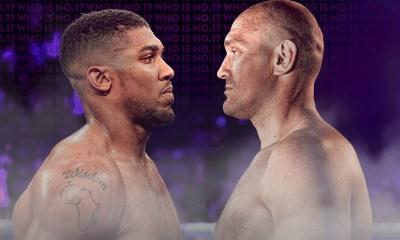 Dates for Anthony Joshua vs Tyson Fury fight revealed