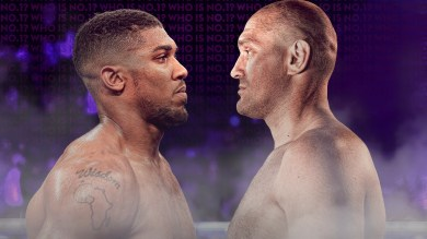 Dates for Anthony Joshua vs Tyson Fury fight revealed