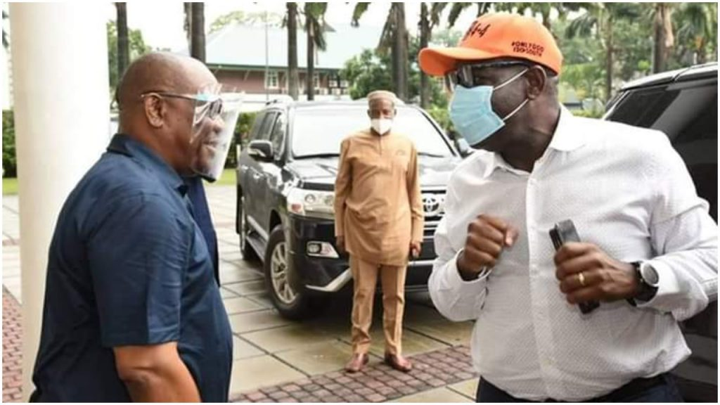 Edo Governorship Election: Obaseki runs to Wike
