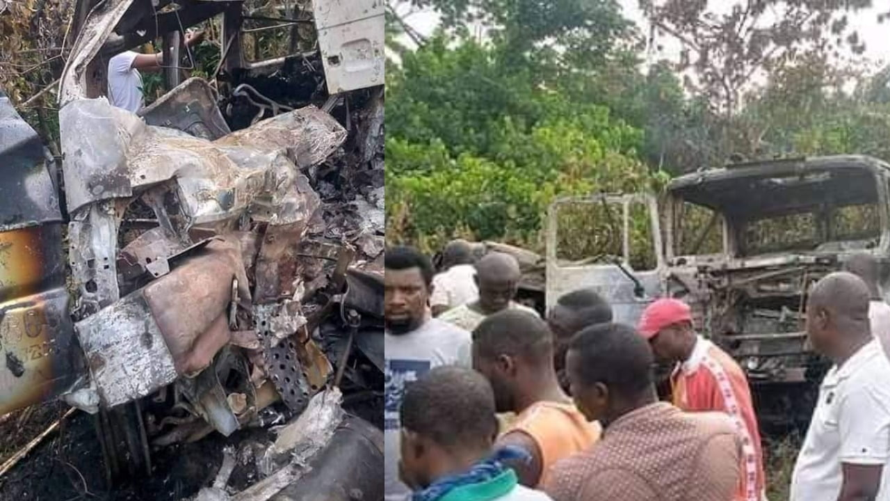 , Road Accident: 12 burnt to death in tragic Bayelsa auto crash, Effiezy - Top Nigerian News & Entertainment Website