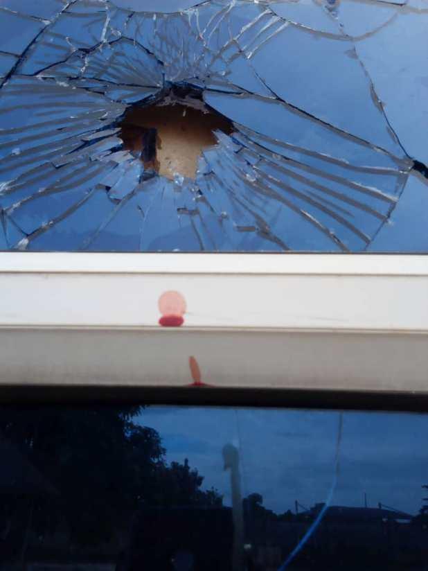 DSC 03 - Gunmen assault residence of Edo Commissioner for Youths, Lawani, promise to return [PHOTOS]