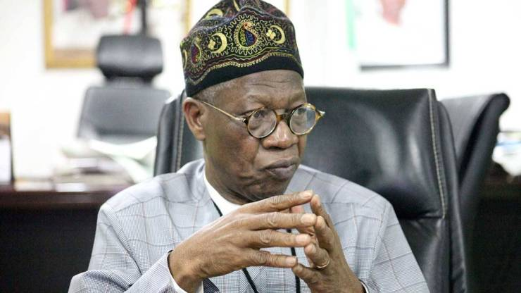 Again, Lai Mohammed accuses media of under-reporting military successes