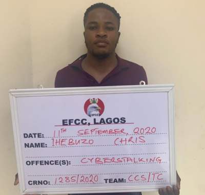 EFCC arrests suspect with 2,000 bank account details, ATM cards