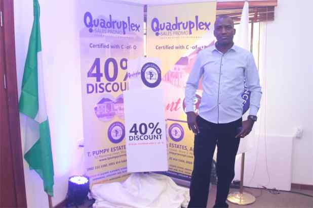 IMG 20200903 WA0018 - Quadruplex: T Pumpy announces children's estate in Abuja as plot of land with C-of-O goes for N399k
