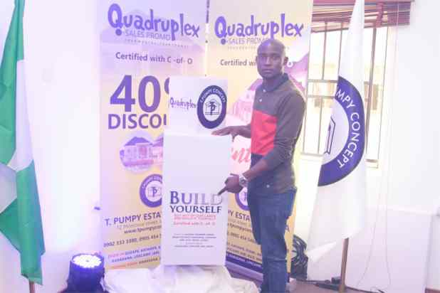 IMG 20200903 WA0021 - Quadruplex: T Pumpy announces children's estate in Abuja as plot of land with C-of-O goes for N399k