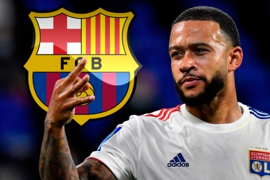 Transfer: Depay set for medicals after Barcelona agree £28m deal