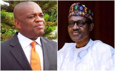 I will convince Nnamdi Kanu to end Biafra agitation – Orji Kalu tells Buhari