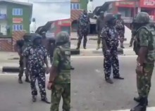 End SARS: 'Stop shooting protesters' – Air Force officer blasts policemen