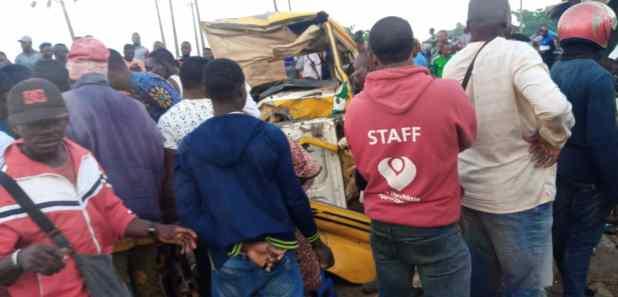 IMG 20201013 WA0001 - Four dead, five injured in Ogun road crash