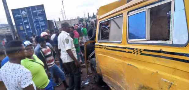 IMG 20201013 WA0005 - Four dead, five injured in Ogun road crash