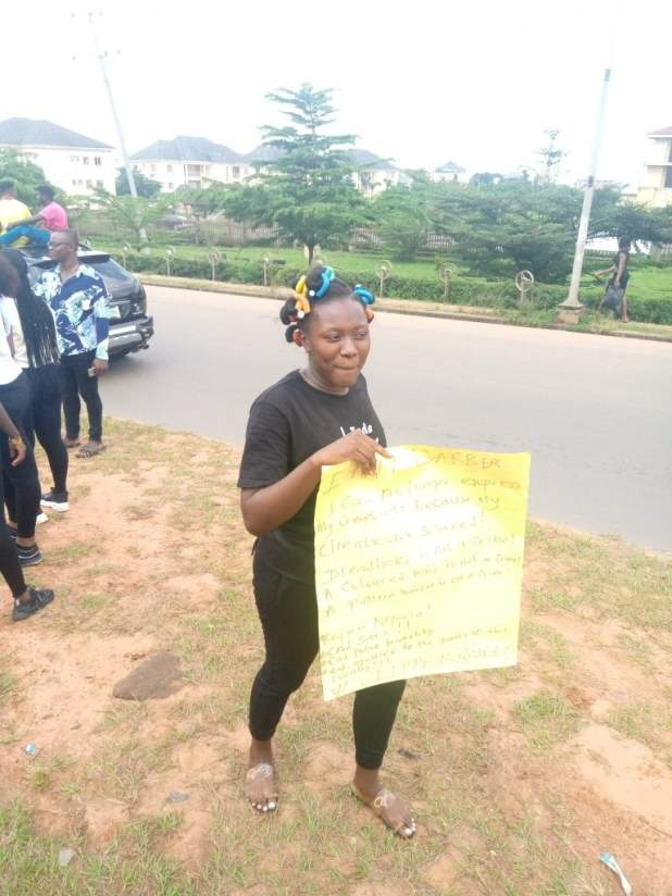 IMG 20201016 120238 781 768x1024 - End SARS protest continues in Anambra [PHOTO]