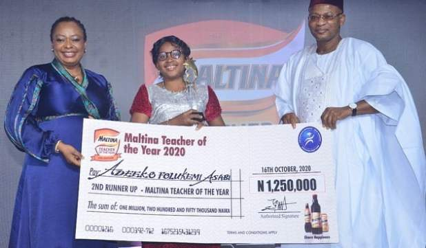 Photo 3 - Anani emerges Maltina teacher of the year