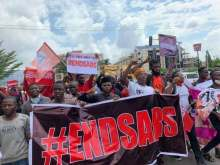 End SARS: Many feared dead as bullets hit protesters in Lekki