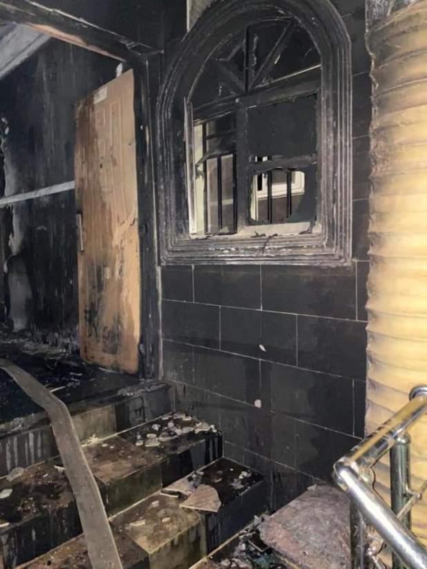 IMG 20210125 WA0134 - BREAKING: Sunday Igboho's house in Ibadan set ablaze [Photos, Video]