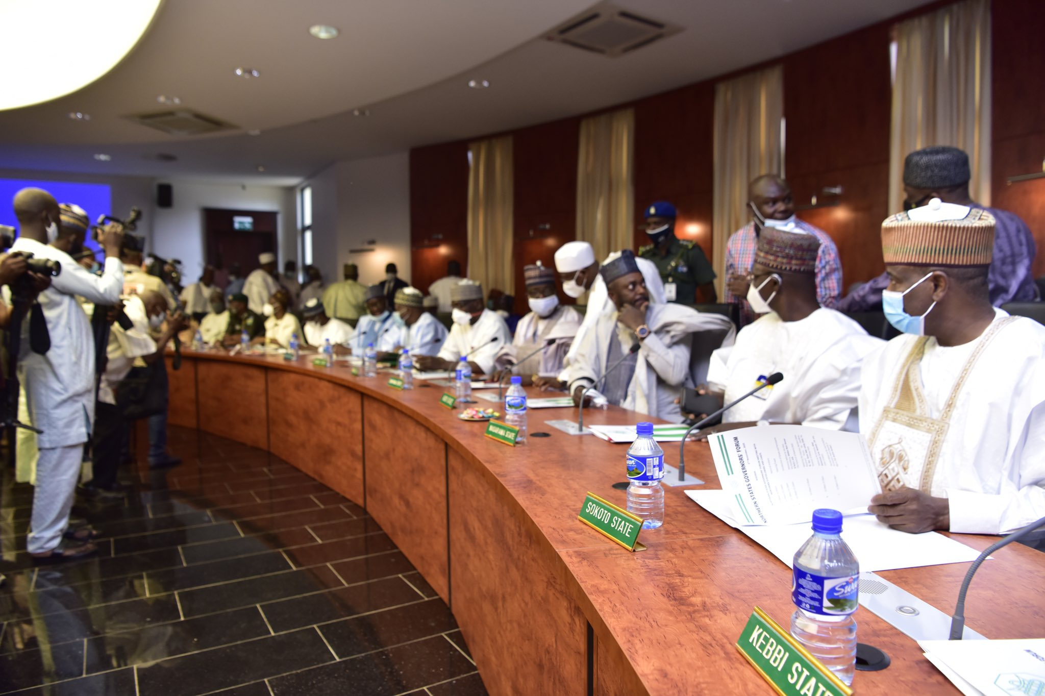 Insecurity: Northern Governors, traditional rulers, IGP, others meet in Kaduna