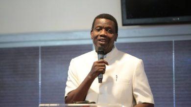 Pastor Adeboye announces son's burial arrangements