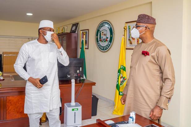 IMG 20210325 WA0012 - Ogun APC: Former Speaker, Bankole meets Abiodun, Osoba [PHOTOS]
