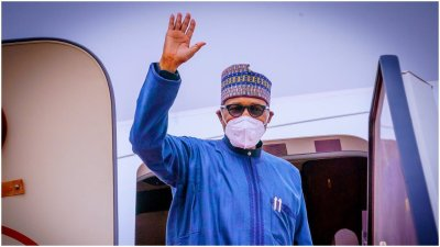 Buhari finally departs for London for medical check-up