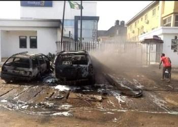 Unknown gunmen attack bank in Anambra, hoist Biafra flags