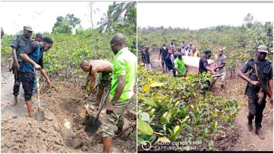 Police are exhuming the body of the CDC chairman, who is buried alive