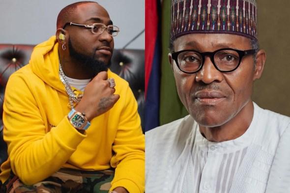 Anybody supporting Buhari govt deserves hell – Singer Davido