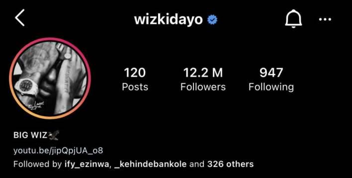 Nigerian singer, Wizkid changes signature name