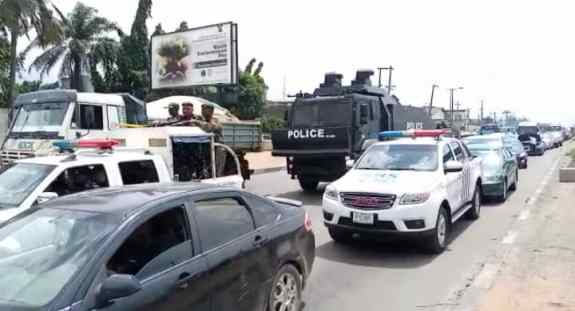 Lagos Igboho protest | Yoruba Nation Rally | NewsWireNGR