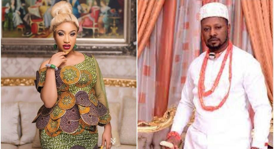 Tonto Dikeh reacts as ex-lover, Kpokpogri accuses her of cheating