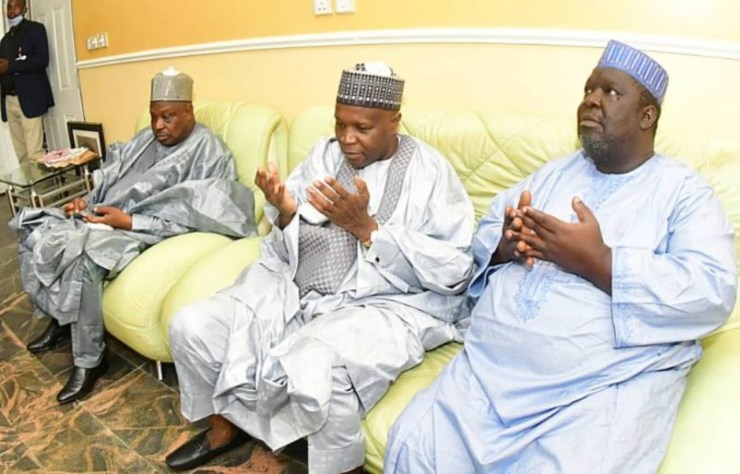 Gombe Governor pays condolence visit to Sen, Na'Allah over son's death