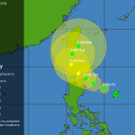 Typhoon Egay Projected Path and Tracking: May Hit Northern Philippines (Update)