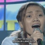 """Rayllyne Alicaya Sings """"Paano Kita Mapasasalamatan"""" on Filipino Show """"Tawag Ng Tanghalan"""""""
