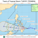 Typhoon Vinta Projected Path and Tracking 2017: Affecting Southern Philippines (Update)