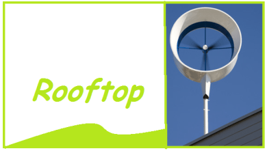install a home wind turbine in the city