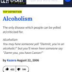 5 Definitions of Alcoholism