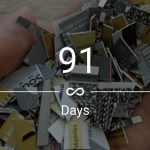 91 Days (13 weeks) Sober: Cutting Up Credit Cards