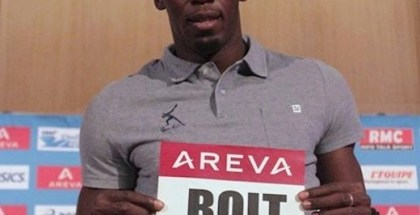 Usain Bolt in Paris
