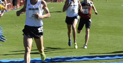 Jake Hurysz at Pac 12 XC 2012
