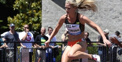 Emma Coburn at Pre (photo: TrackAndFieldPhoto)