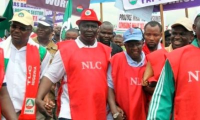 The Nigerian Labour Congress during a demonstration