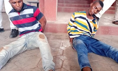 Police Arrest Two Brothers For Murder in Ondo