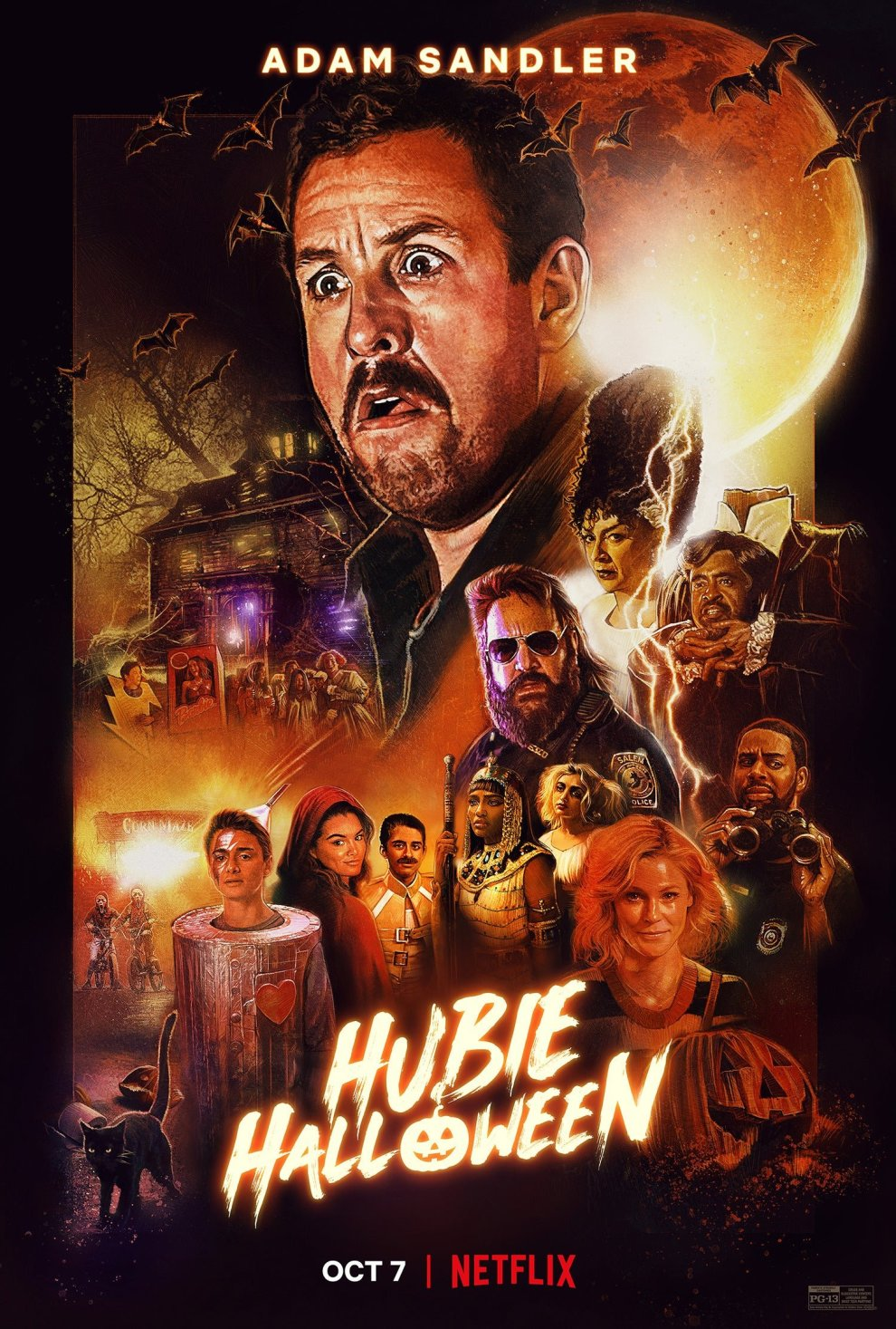 Hubie Halloween -Trailer and Movie Poster released