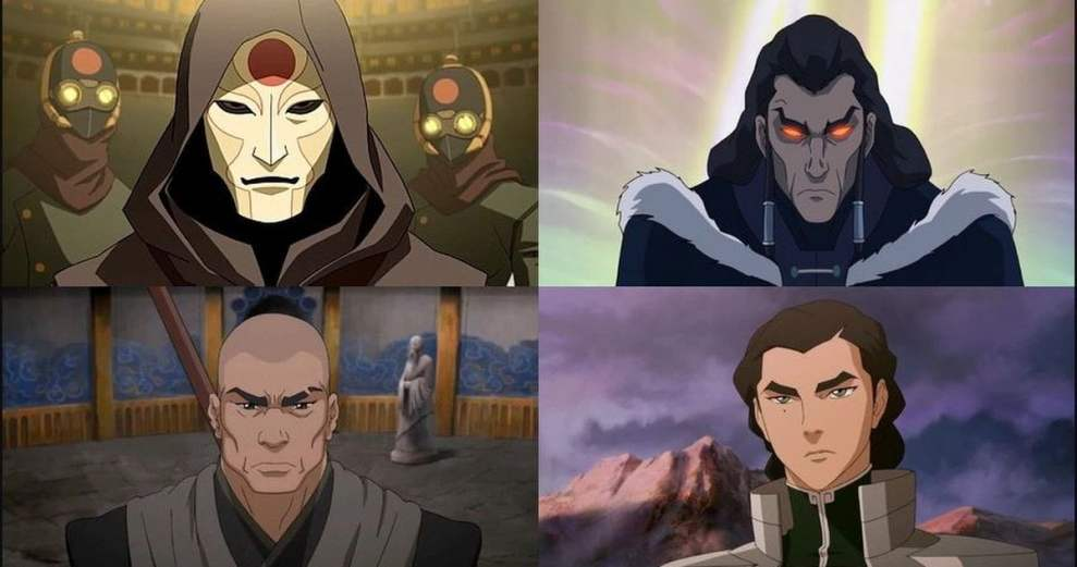 The Legend of Korra Season 4 [5 Biggest Hero and 5 Villains]