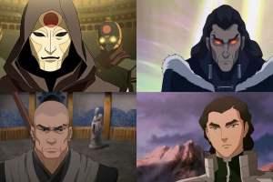 The Legend of Korra Season 4 [5 Biggest Hero and 5 Villains]