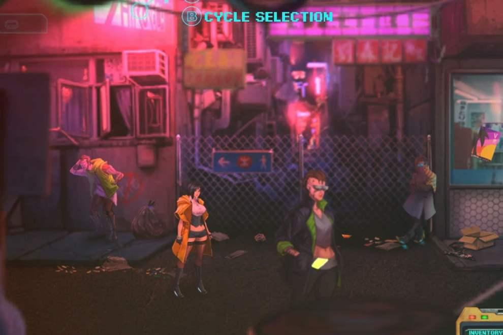 Sense: A cyberpunk Ghost Story: