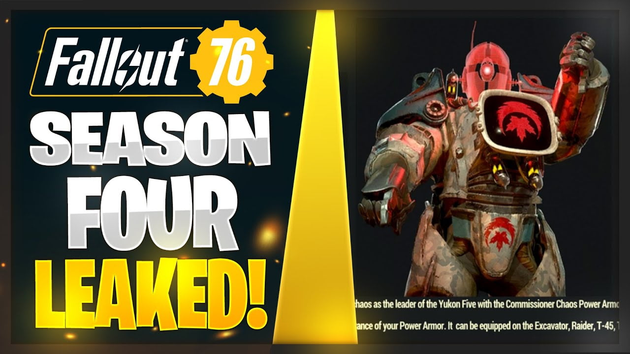Fallout 76 Season 4