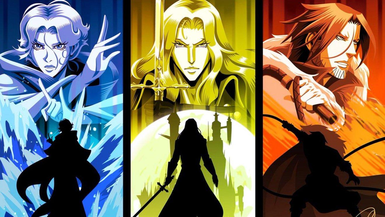 Castlevania Season 5 Characters