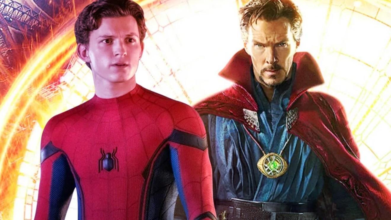 Doctor Strange seen with Peter Parker in Spider-Man 3 Set Photo