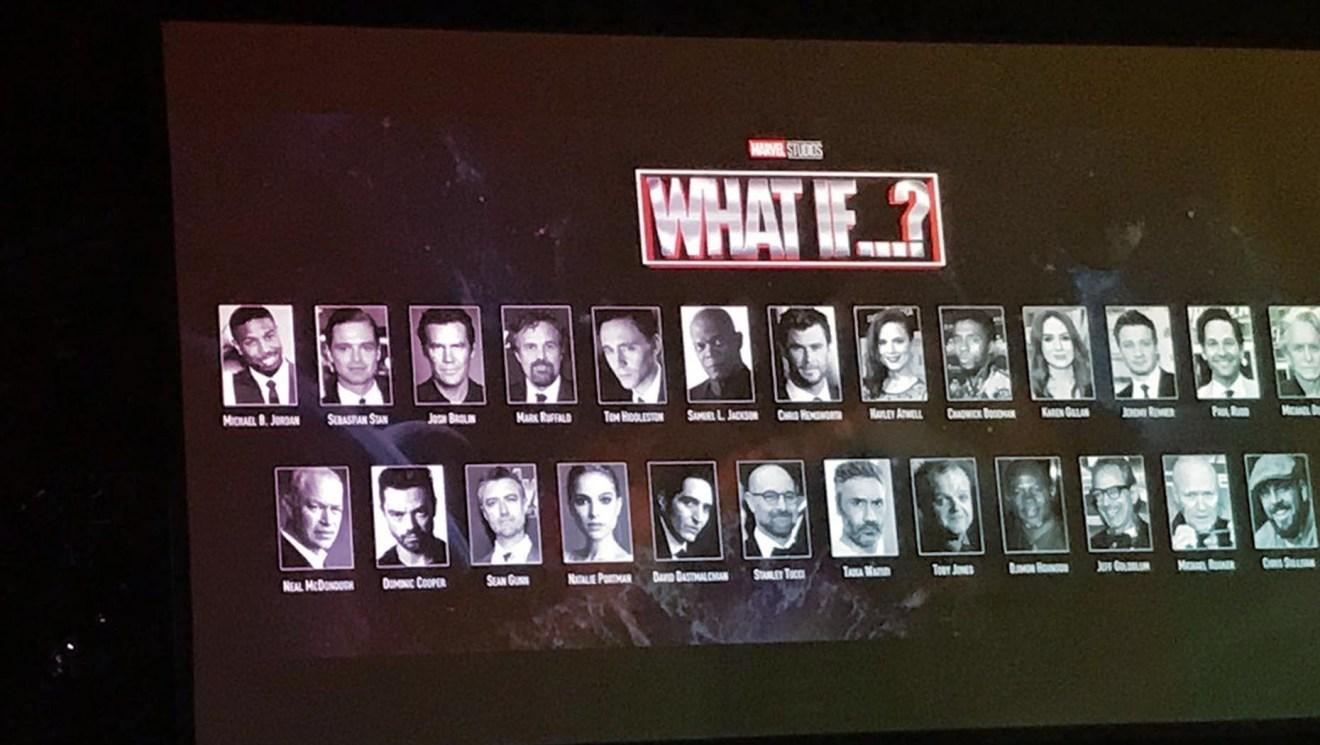 Marvel's What If Cast voice Cast